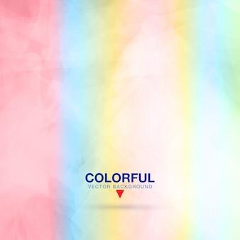 Diseño de fondo colorido