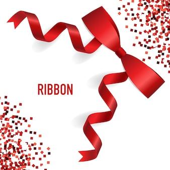 Diseño de fondo con ribbon