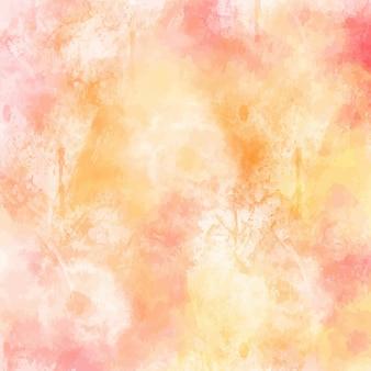 Diseño de fondo de acuarela en colores pastel