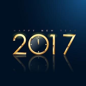 Diseño de fondo de año nuevo