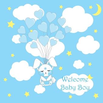 Diseño de fondo de baby shower