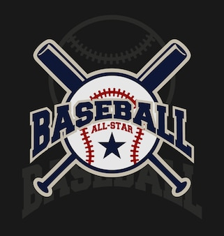 Diseño de fondo de baseball