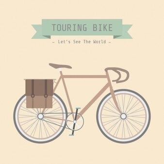 Diseño de fondo de bicicleta