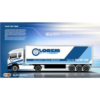 Diseño de fondo de camión