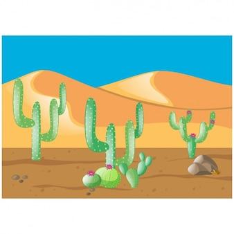 Diseño de fondo de desierto