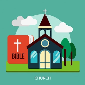 Diseño de fondo de iglesia