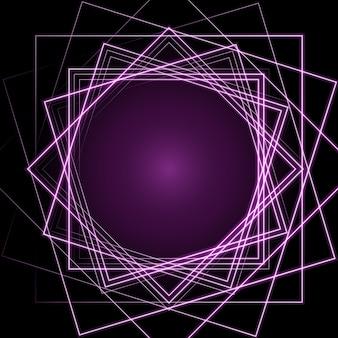 Diseño de fondo de luces rosas