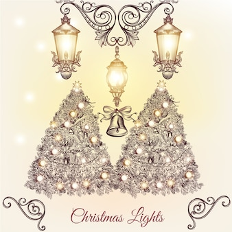 Diseño de fondo de navidad