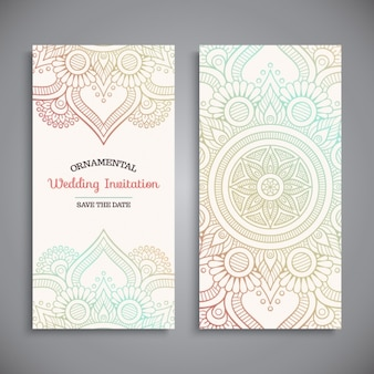 Diseño de invitación de boda