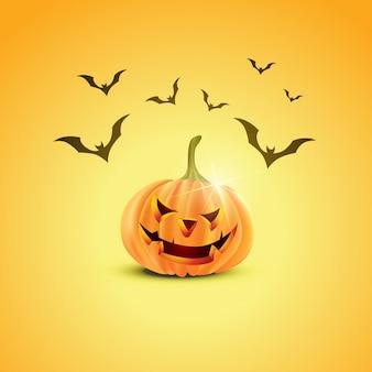 Diseño de la calabaza de Halloween