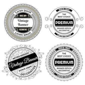 Diseño de la etiqueta de la vendimia