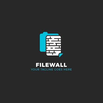 Diseño de logotipo de archivo