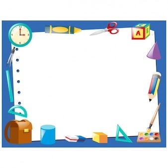 Diseño de marco de herramientas de colegio