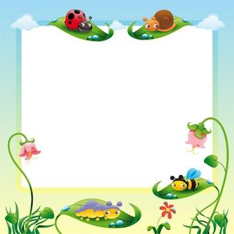 Diseño de marco de naturaleza