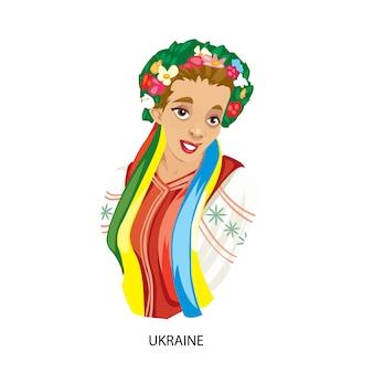 Diseño de mujer ucraniana