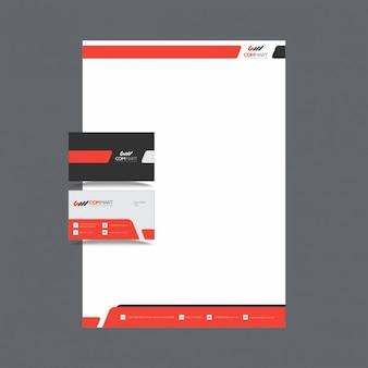 Diseño de papelería creativa