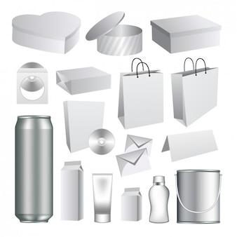 Diseño de paquetes en 3d