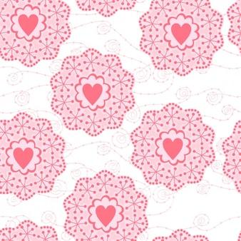 Diseño de patrón de amor