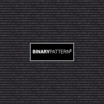 Diseño de patrón de código binario