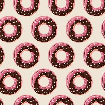 Diseño de patrón de donuts