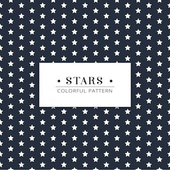 Diseño de patrón de estrellas