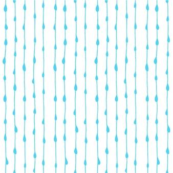 Diseño de patrón de gotas de agua