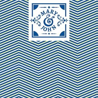 Diseño de patrón de líneas