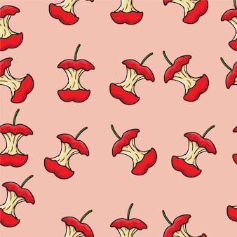 Diseño de patrón de manzanas