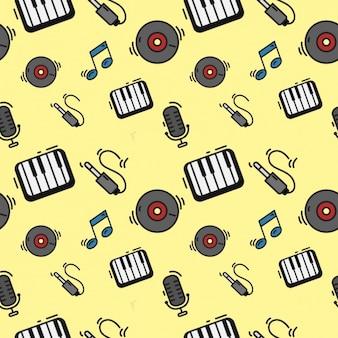 Diseño de patrón de música