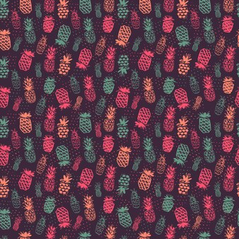 Diseño de patrón de piñas
