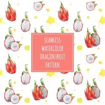 Diseño de patrón de pitaya