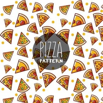 Diseño de patrón de pizza