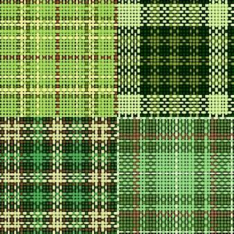 Diseño de patrón de tela