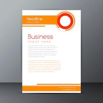 Diseño de plantilla de folleto