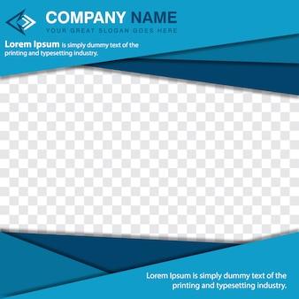Diseño de plantilla poligonal