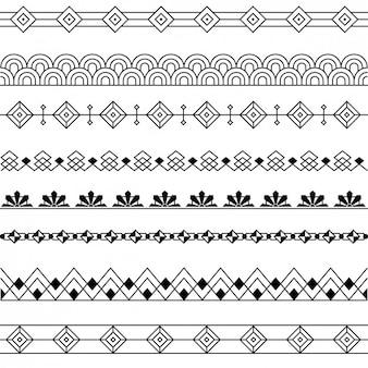Diseño de separadores decorativos