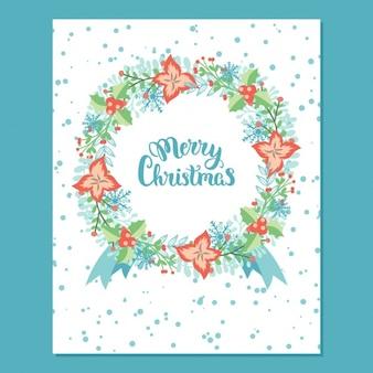 Diseño de tarjeta de navidad