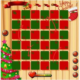Diseño de videojuego de navidad