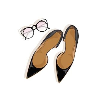 Diseño de zapatos de mujer