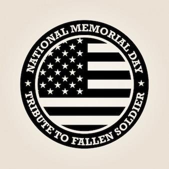 Diseño del día nacional de los caídos