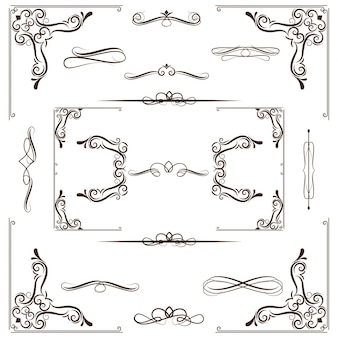 Diseño ornamental de marco