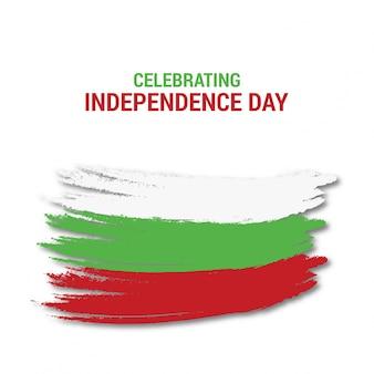 Diseño para el día de la independencia de bulgaria