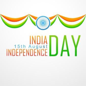 Diseño para el día de la independencia de la india