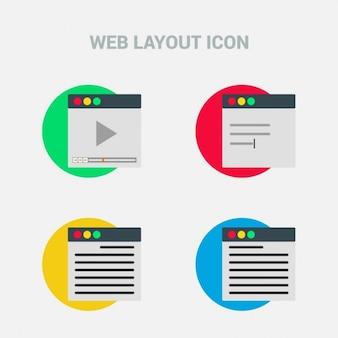 Diseño web, iconos