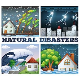 Diseños de desastres naturales