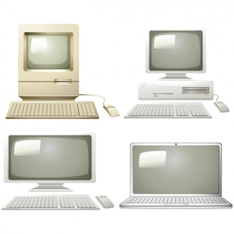 Diseños de la evolución de los ordenadores