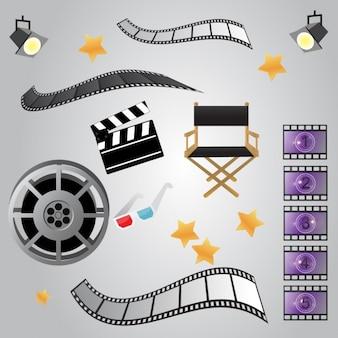 Diseño de elementos de cine