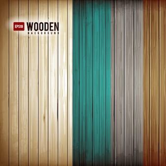 Diseño de fondo de madera