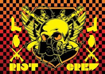 Disturbios emblema