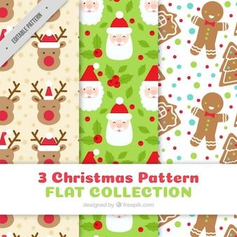 Divertidos patrones de navidad